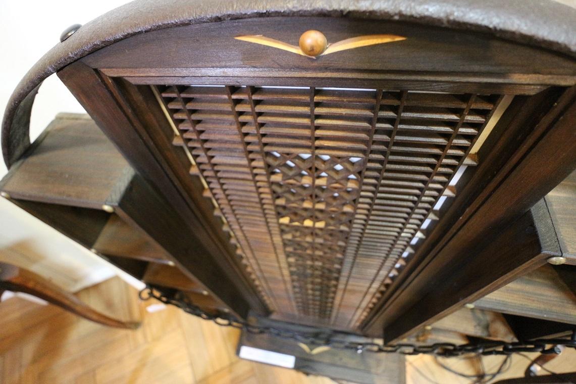大八車ランプ付き衝立,(ST0014)
