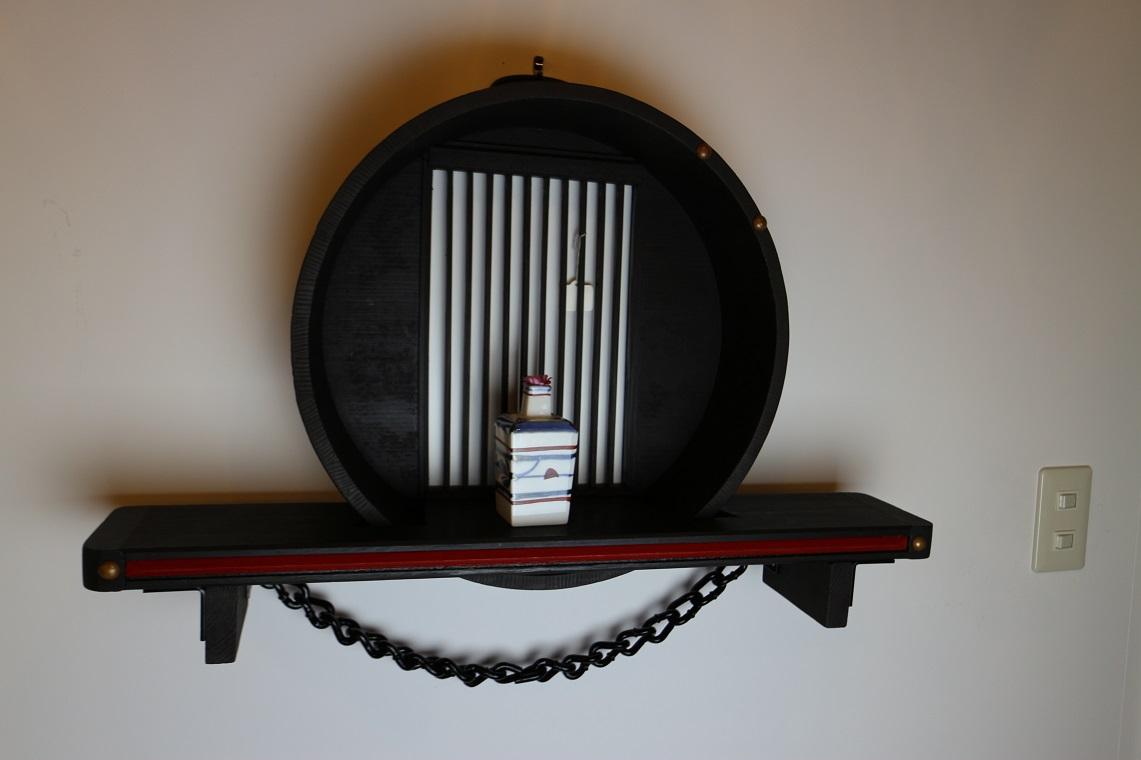 桶の飾り棚,(ST0011)